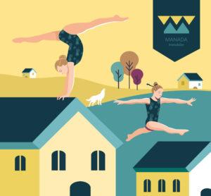 illustration pour Manada Immobilier, Limoges