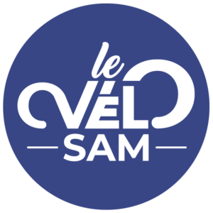 logotype le vélo SAM Sète Agglopôle Mediterranée